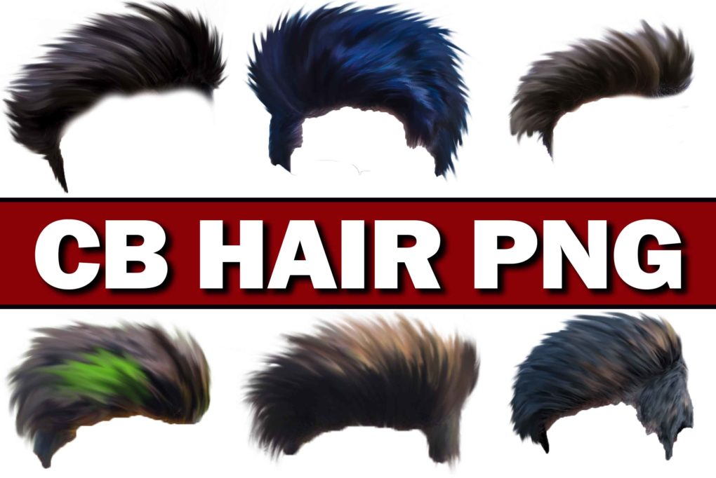 Cb Editing Hair Png Download For Picsart Latest Hair Png Collection 2018
