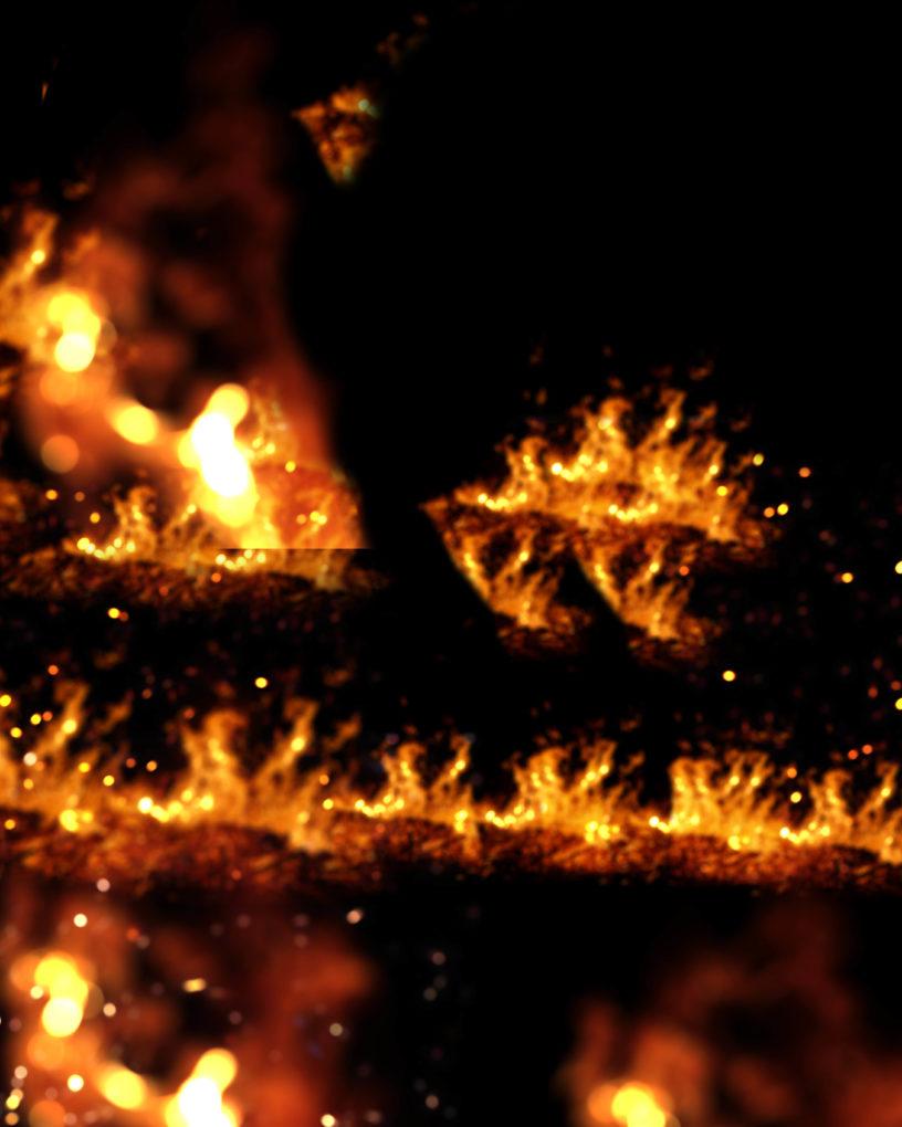 blur fire png overlay