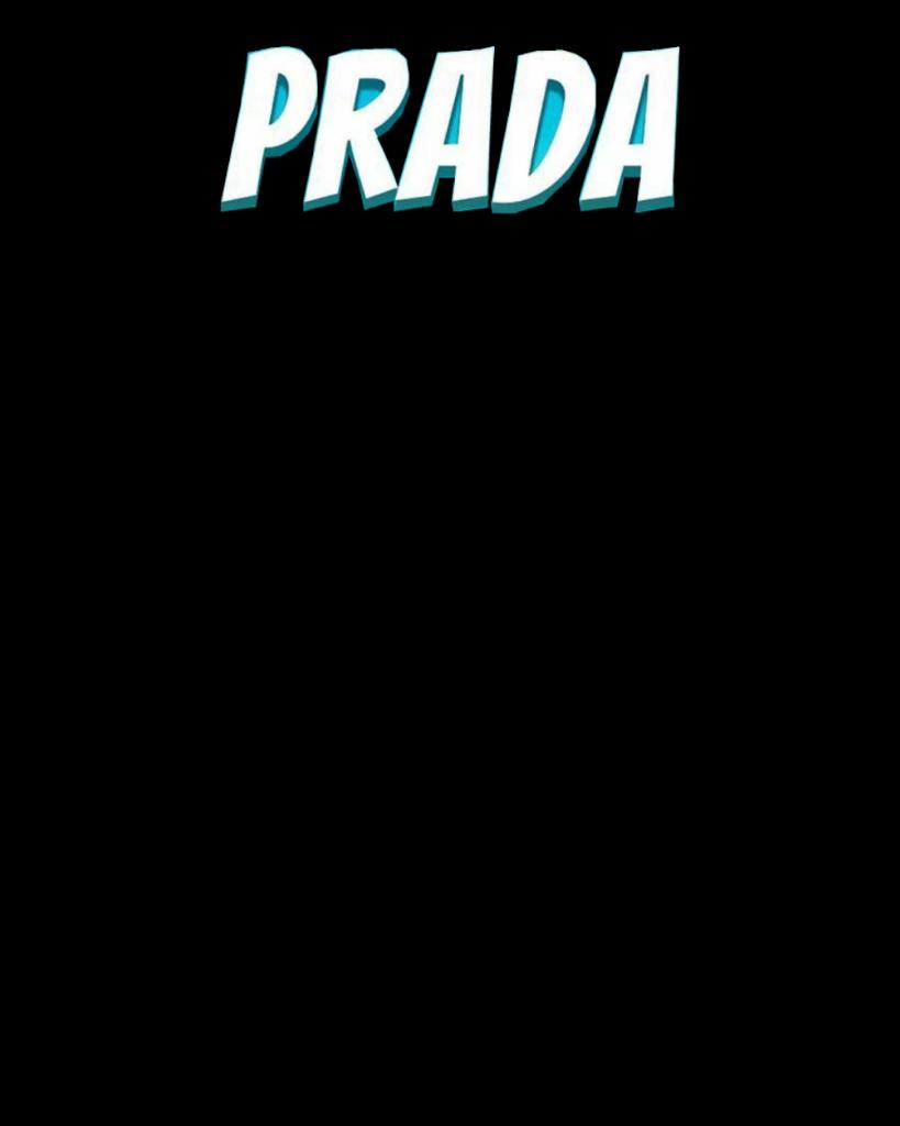 prada text png