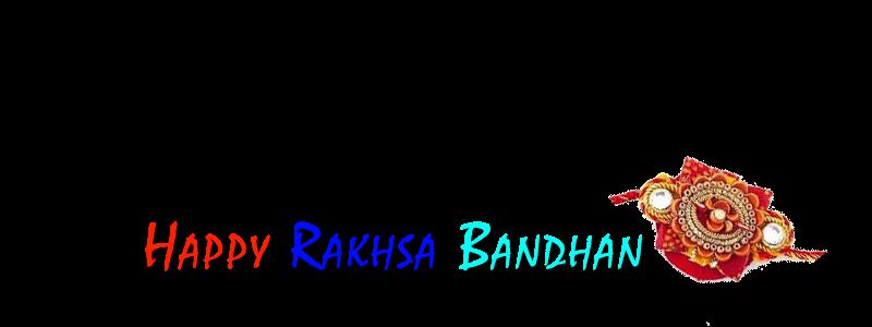 rakshabandan text png