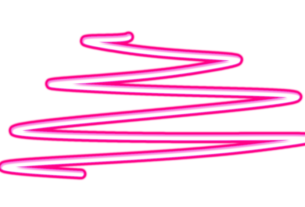 neon shape overlay png