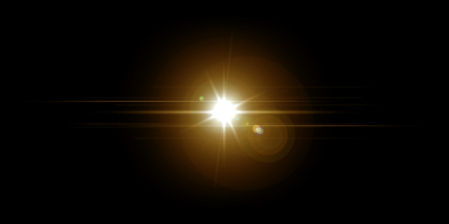 lense flares overlay png 2