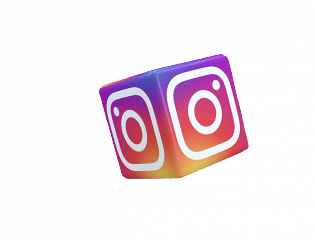 instagram 3d cube logo png