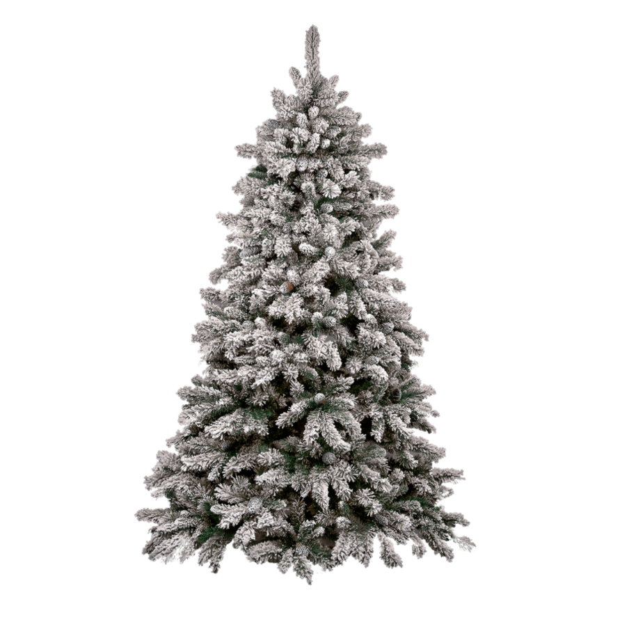 white christmas_tree_PNG111