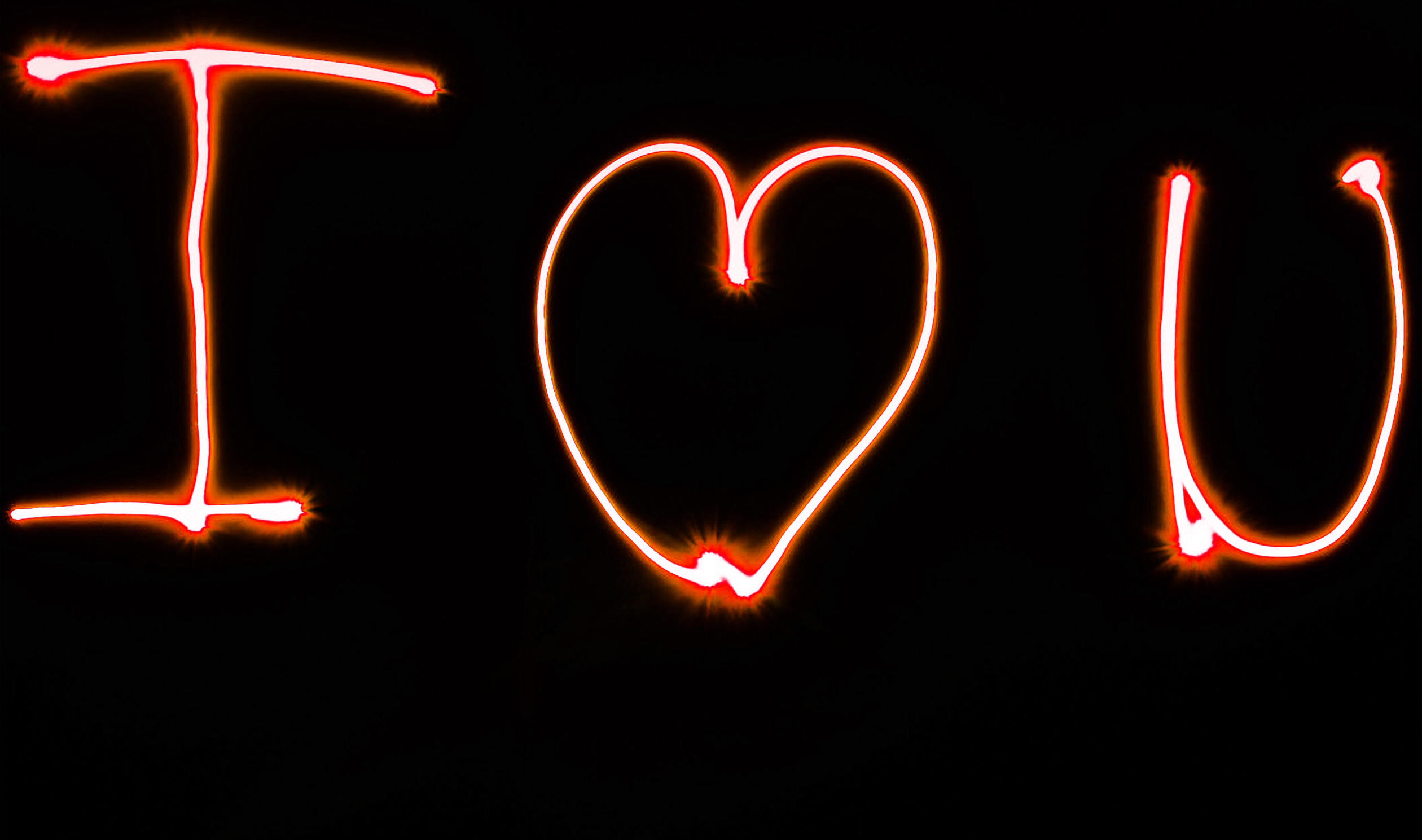 neon i love u