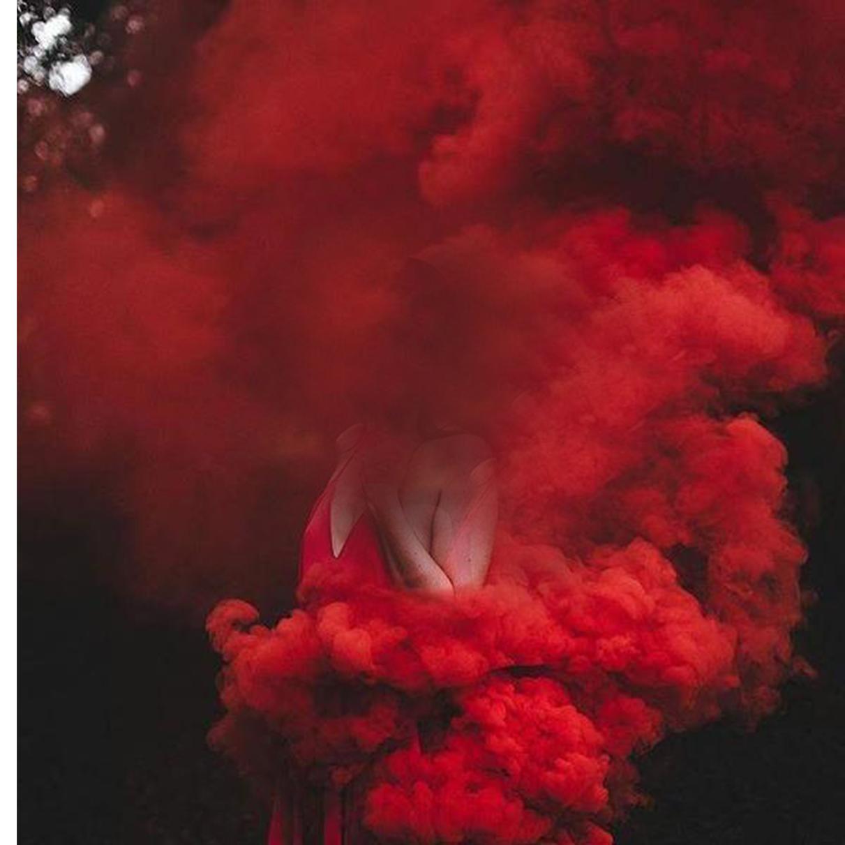 red smoke color