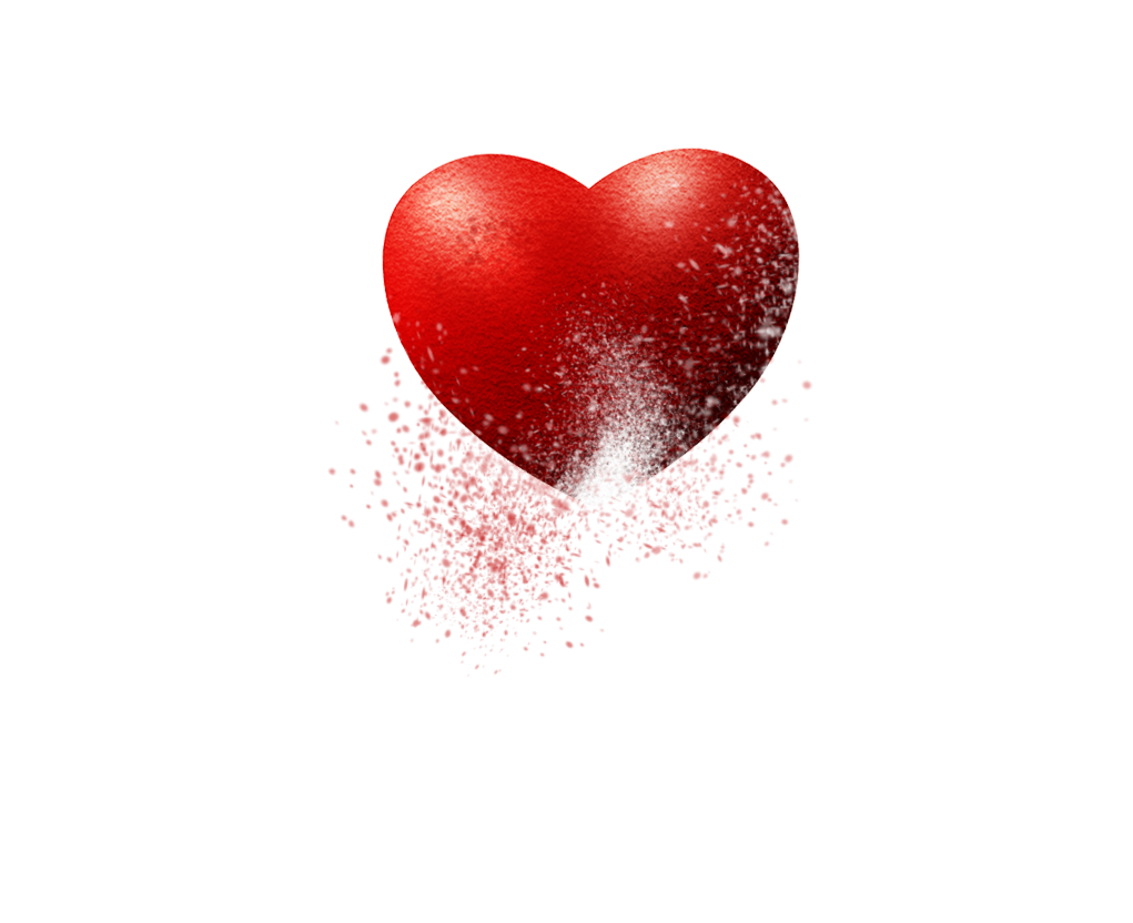 heart splash png