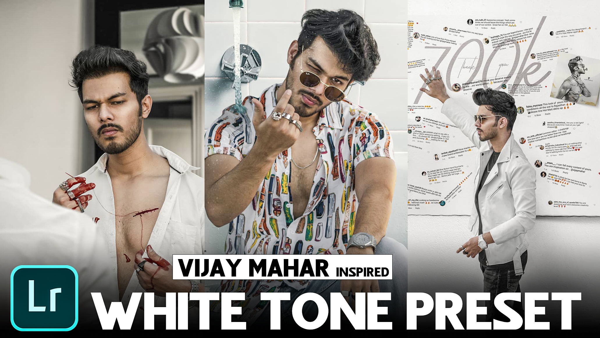 vijay mahar white tone Lightroom presets download FREE