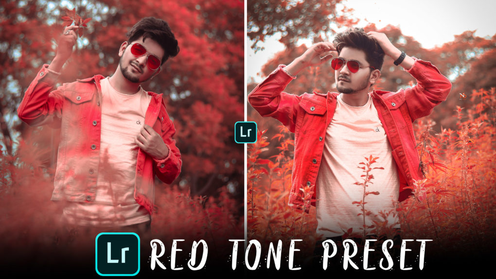 Red tone Lightroom mobile preset free download - NSB