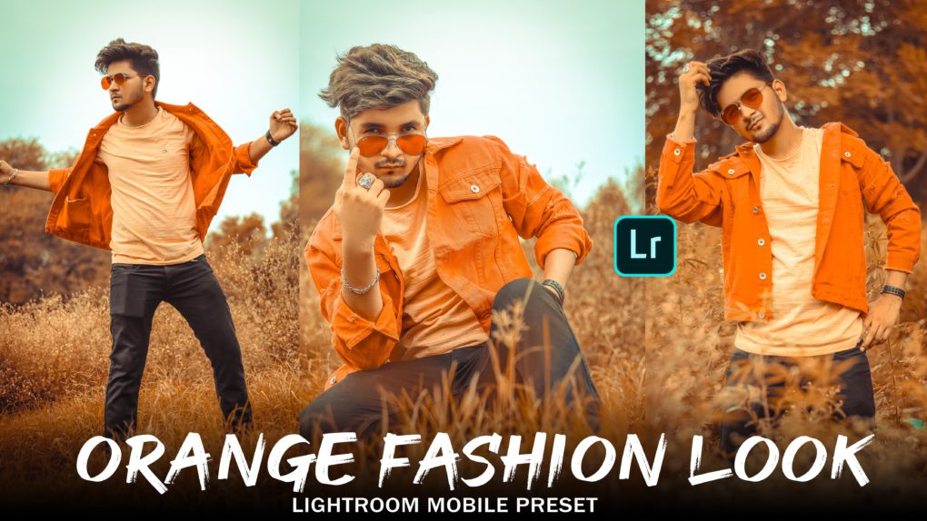 orange fashion preset lightroom