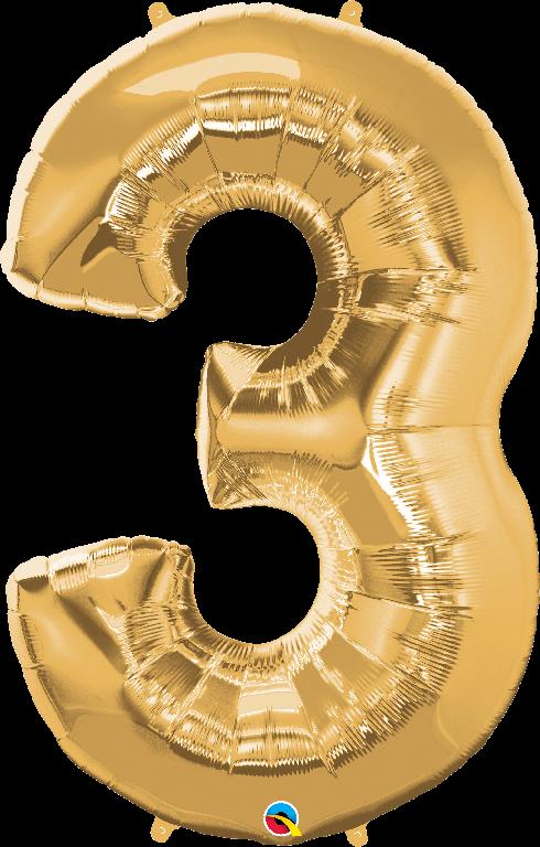 3 alphabet ballon png