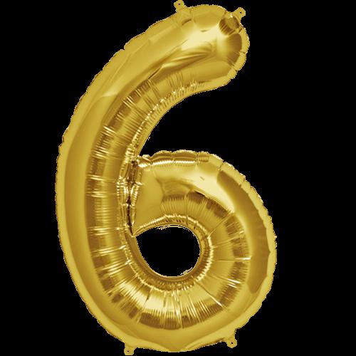 6 alphabet ballon png