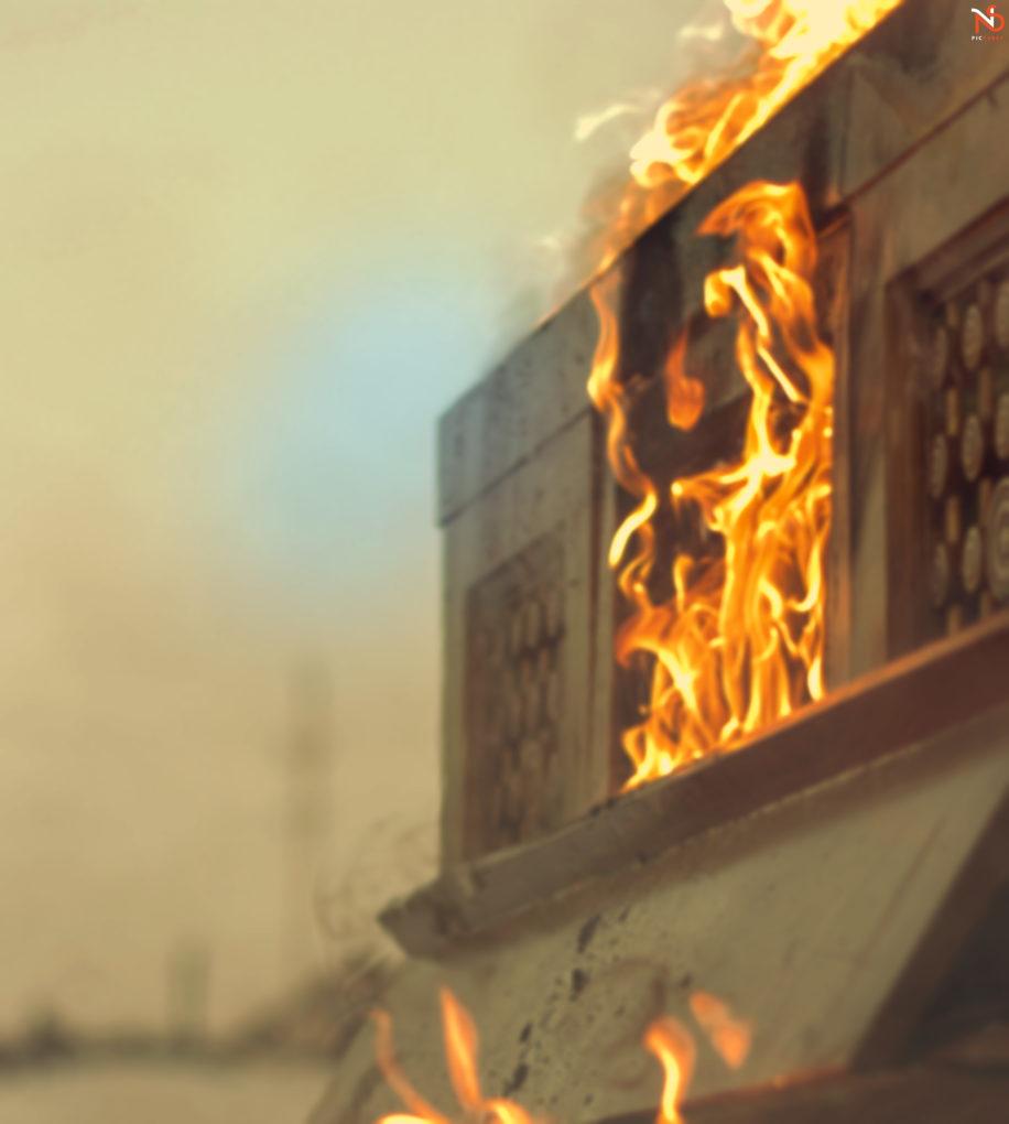hd fire background