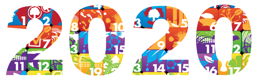 happy new year 2020 text png (2)