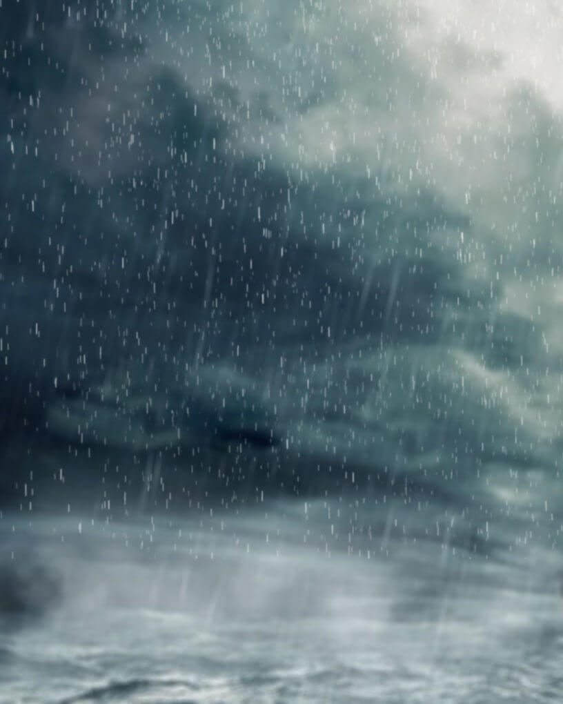 storm sky rain background