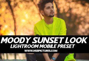 NSB Moody Sunset look
