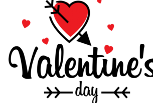 Valentines day text png image transparent 11