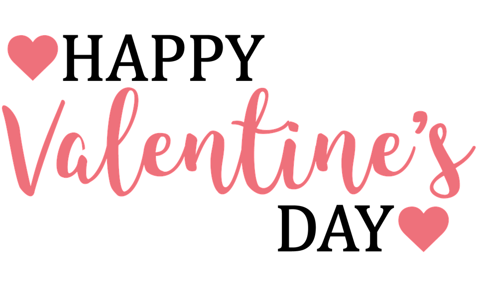 Valentines day text png image transparent 14