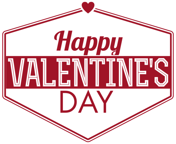 Valentines day text png image transparent 4