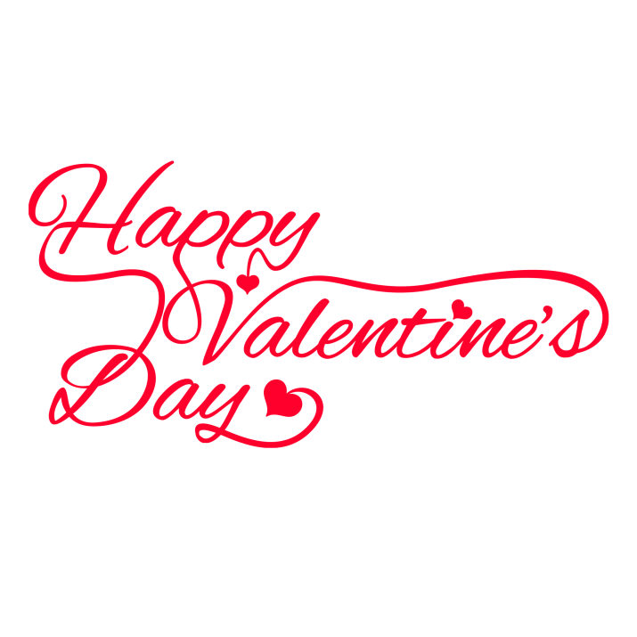 Valentines day text png image transparent 6