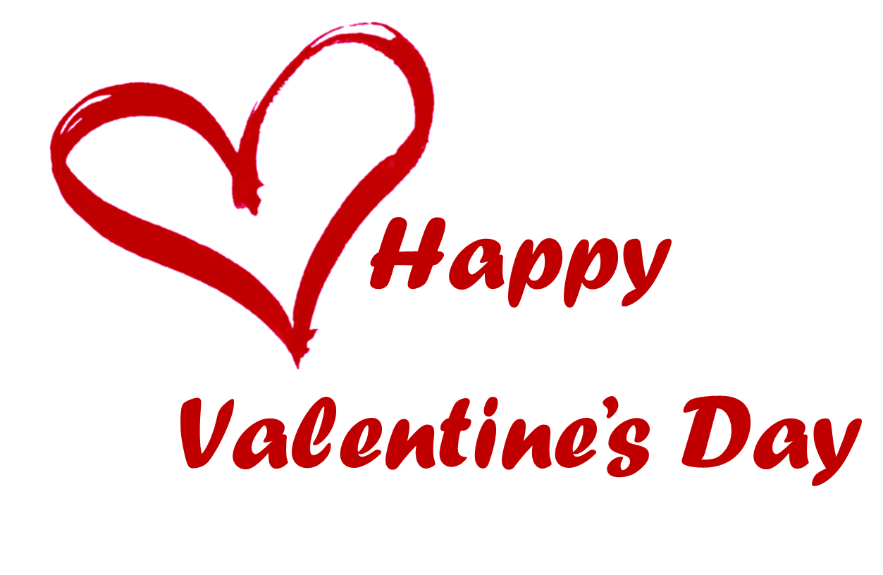 Valentines day text png image transparent 7