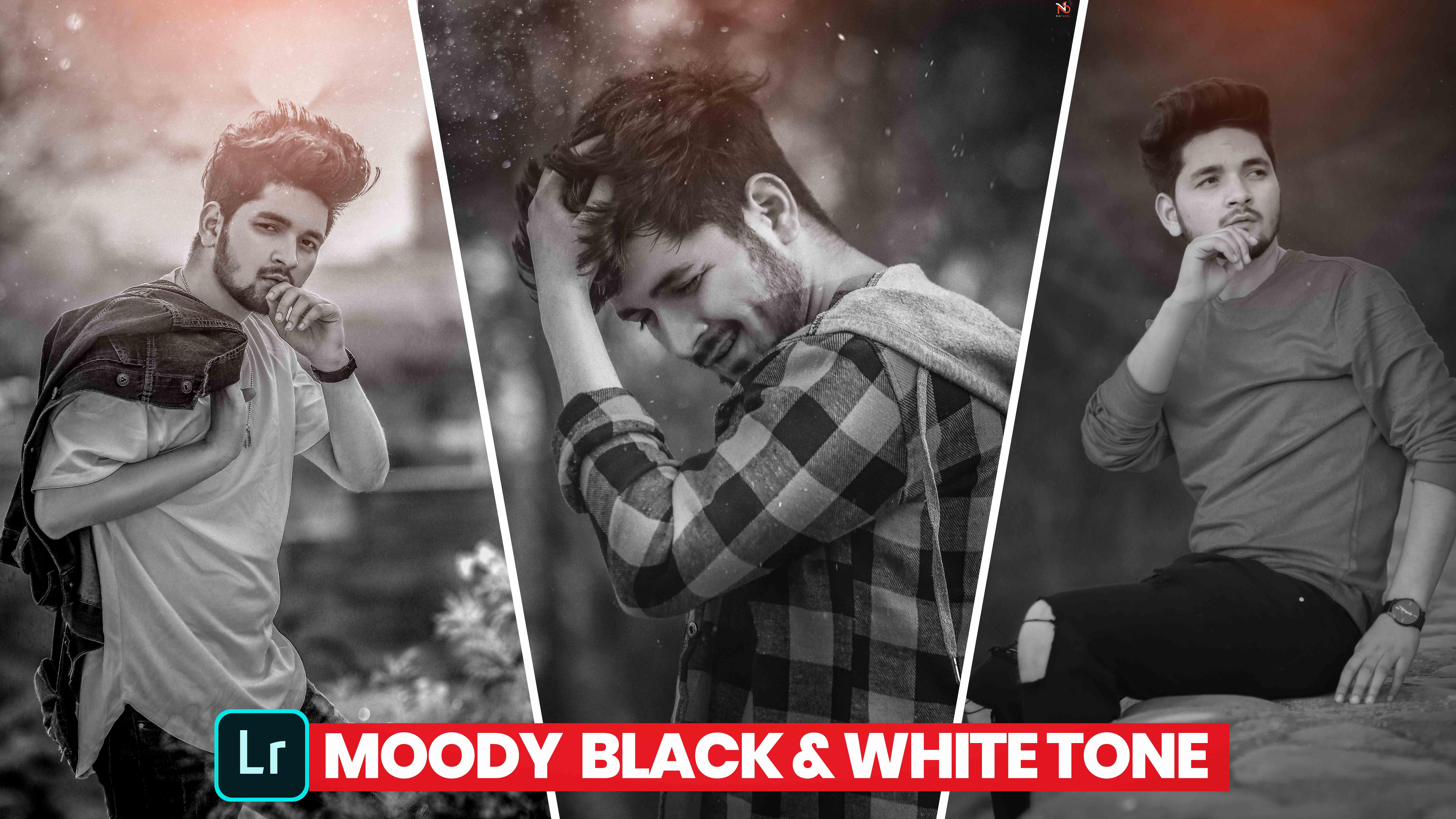 black and white preset