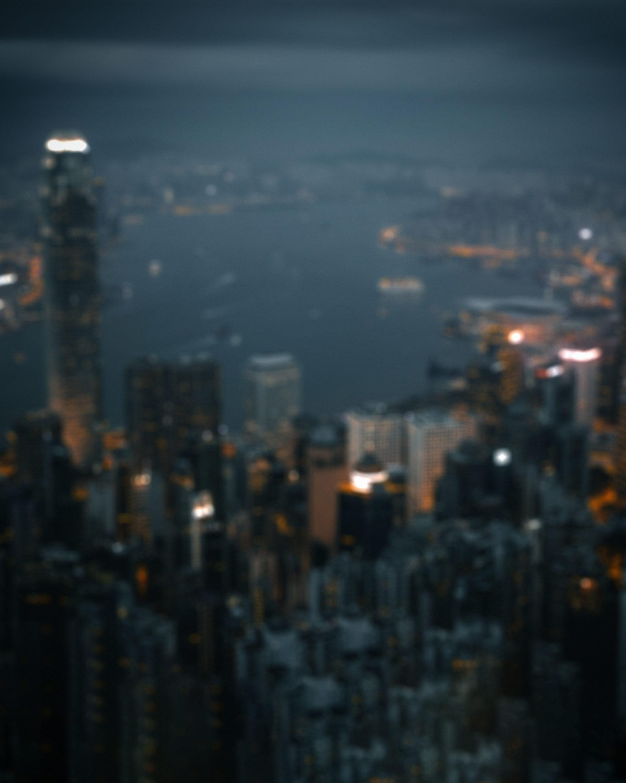city night background