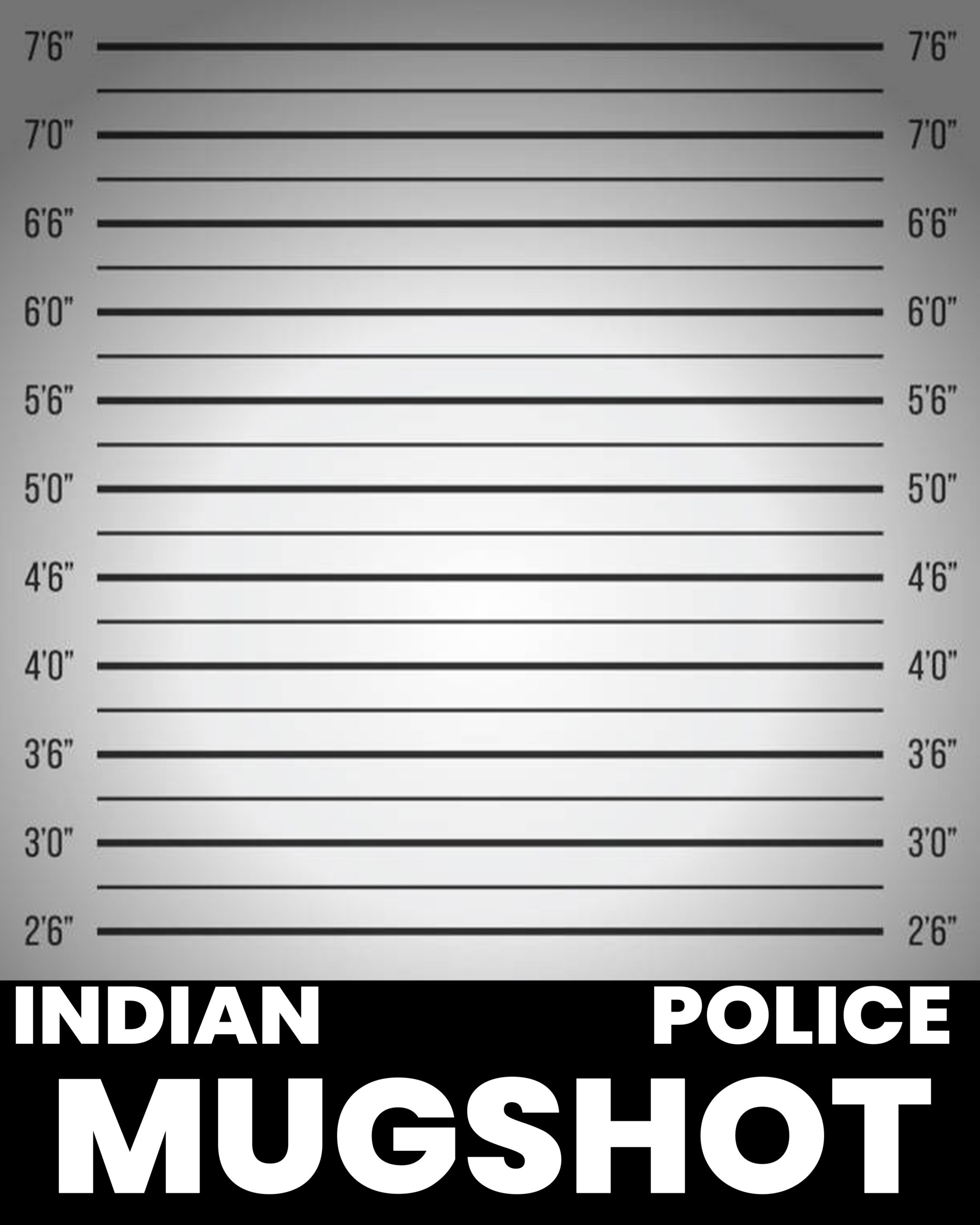 mugshot height bar wall