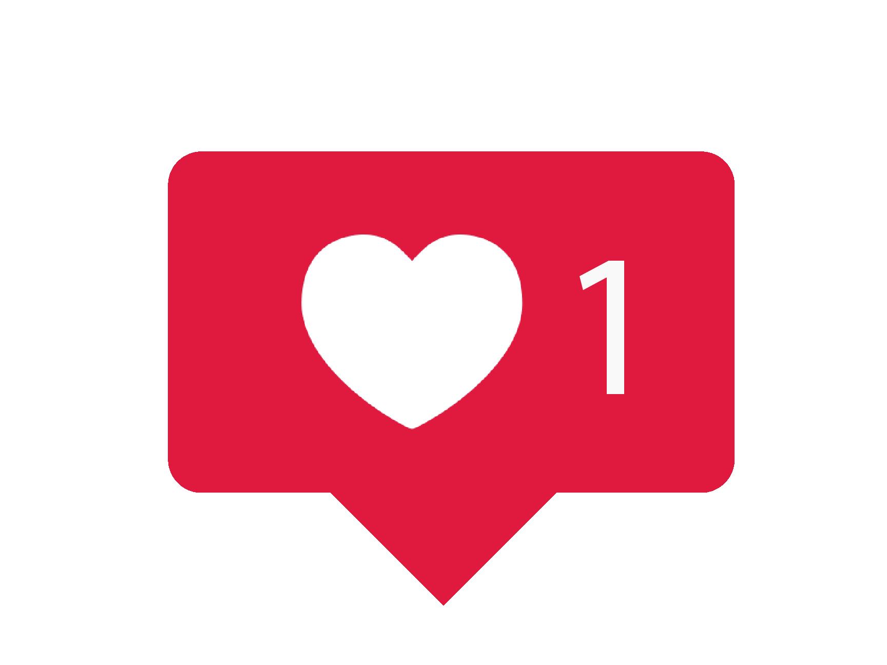 instagram love stiker story comment icon logo 92272