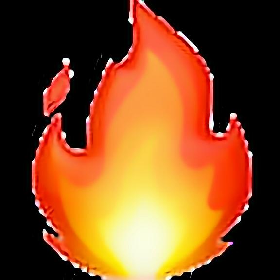 lit fire emoji png