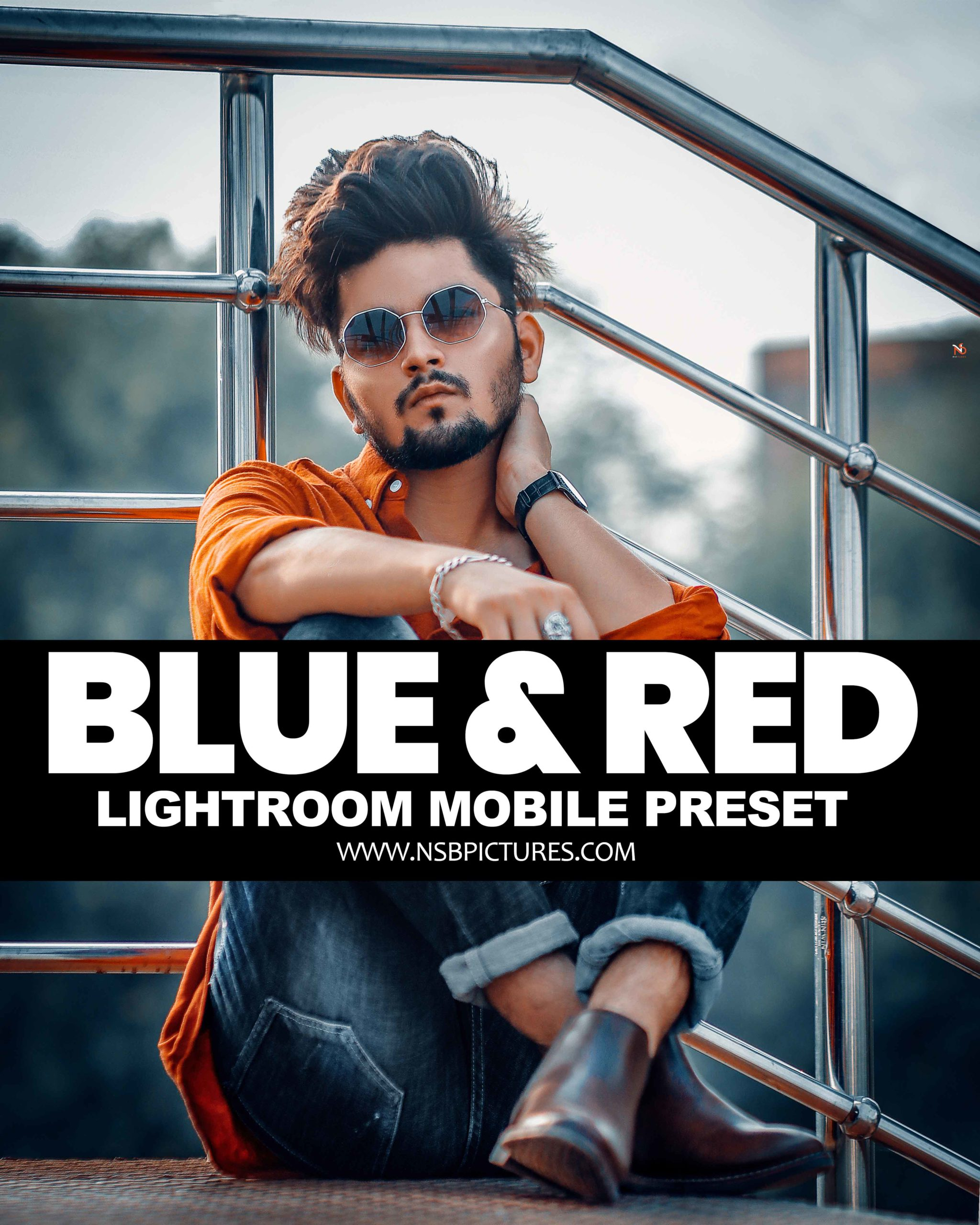 NSB Blue red tone preset