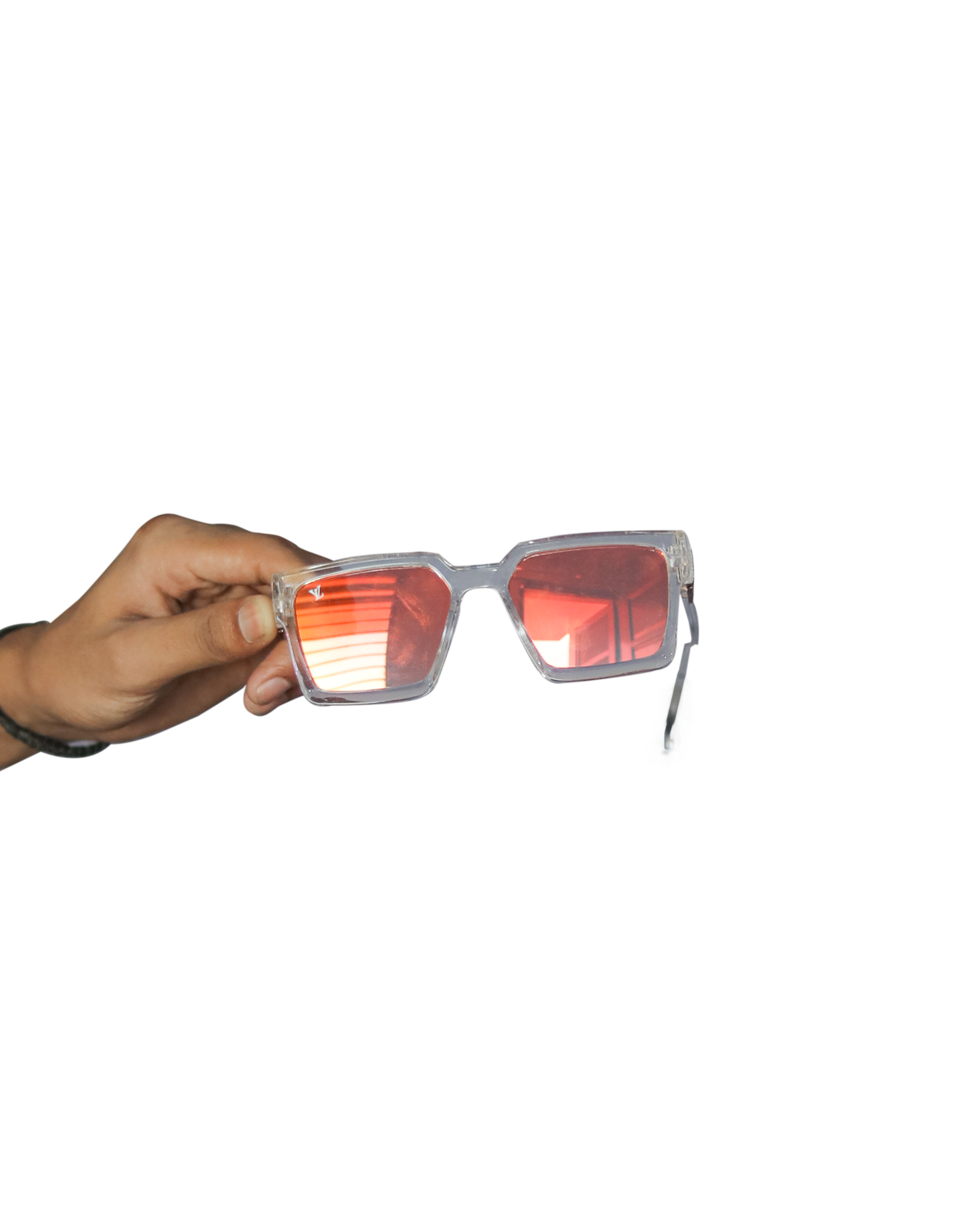 hand with sunglass png