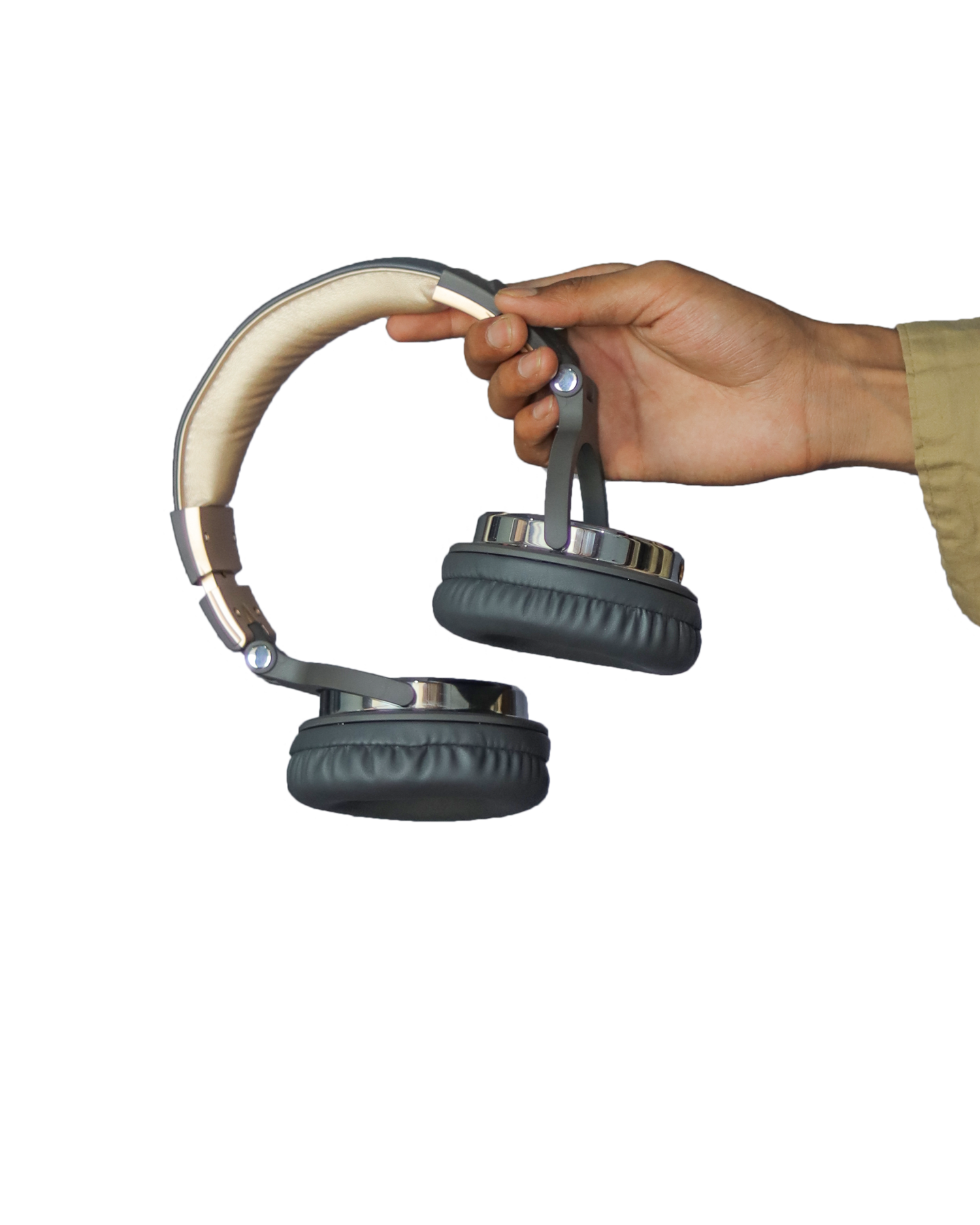 headphone in hand png