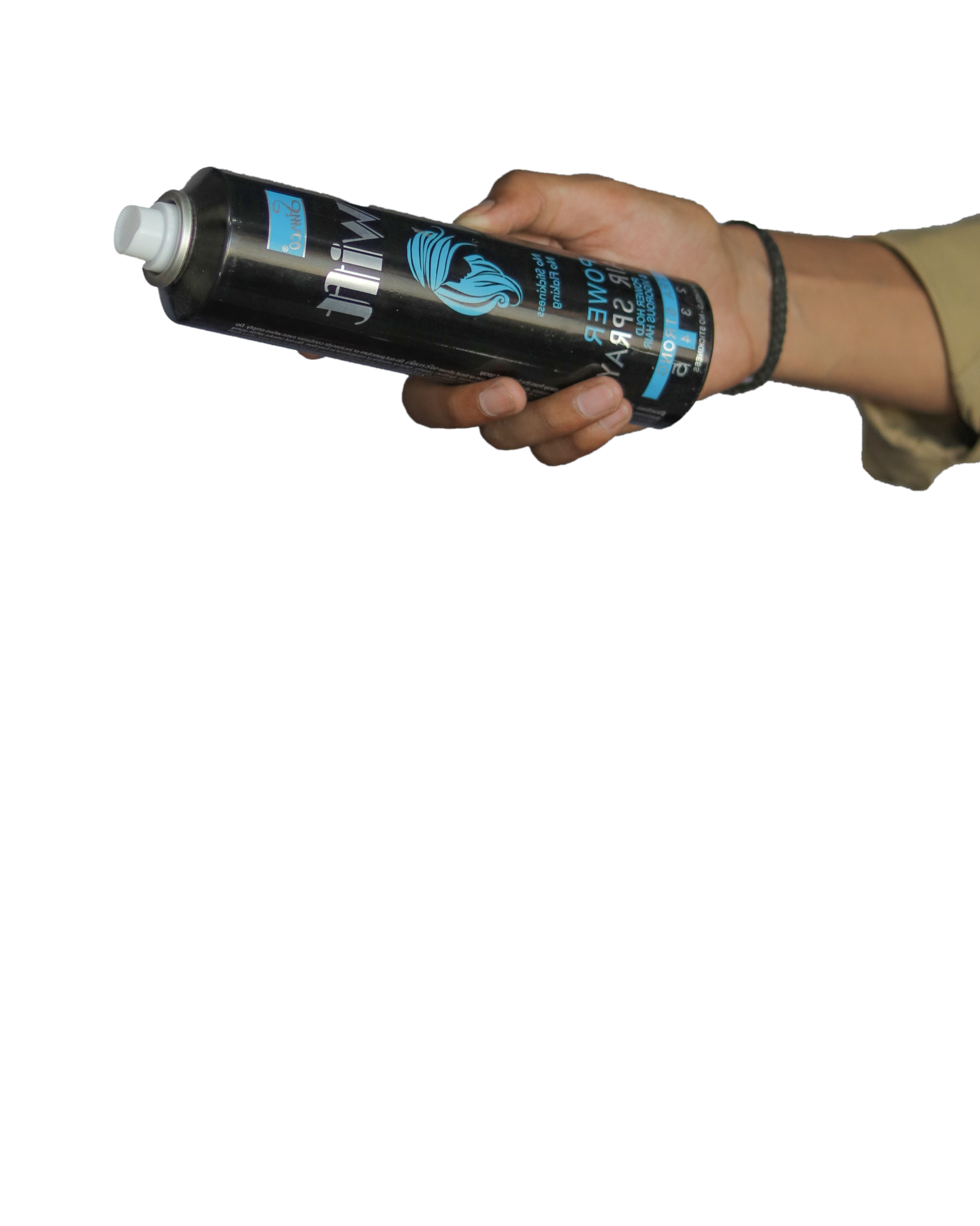 spray in hand png