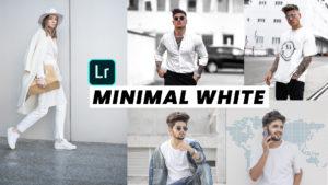 MINIMAL WHITE LIGHTROOM PRESET