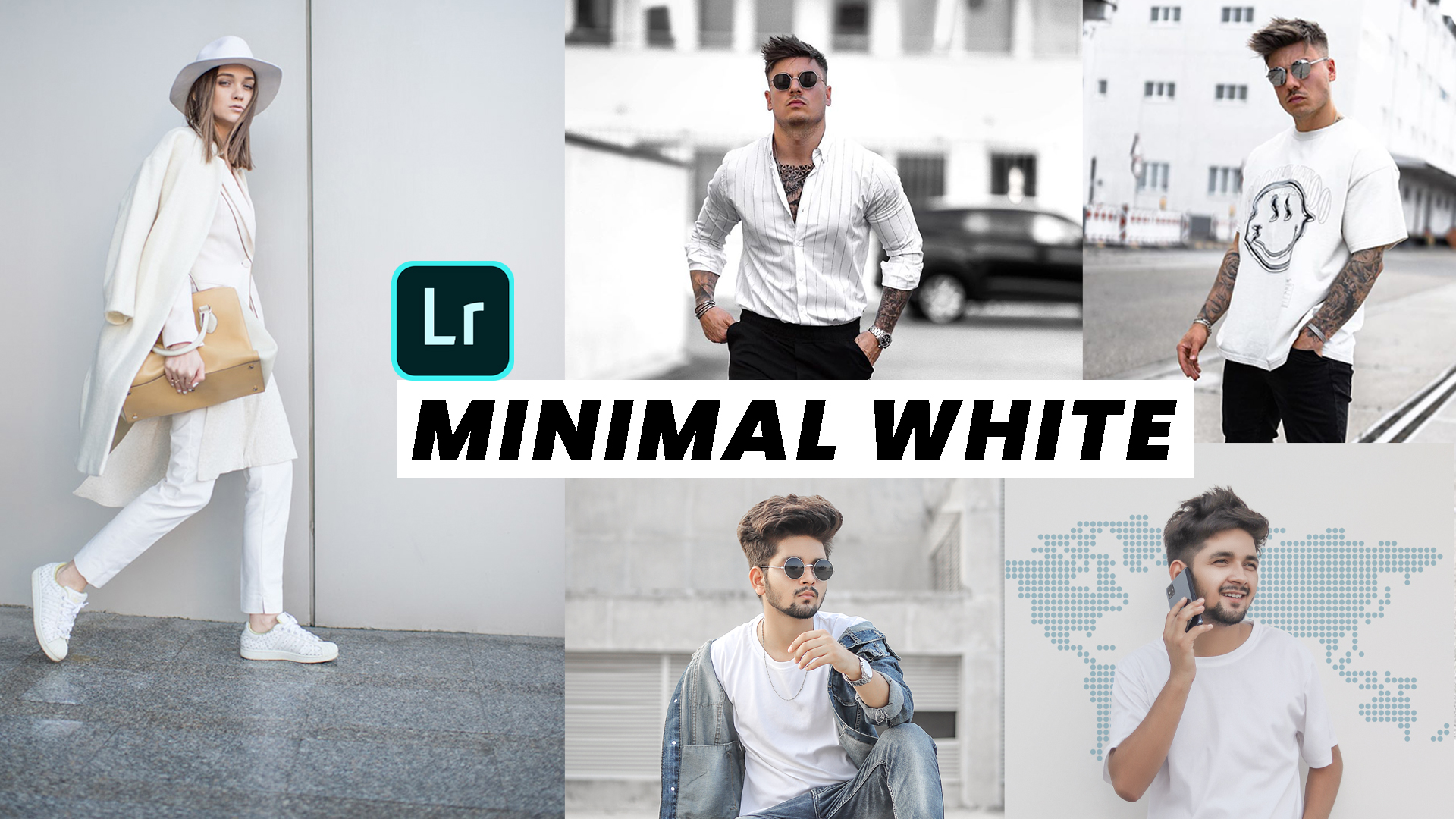 MINIMAL WHITE LIGHTROOM PRESET