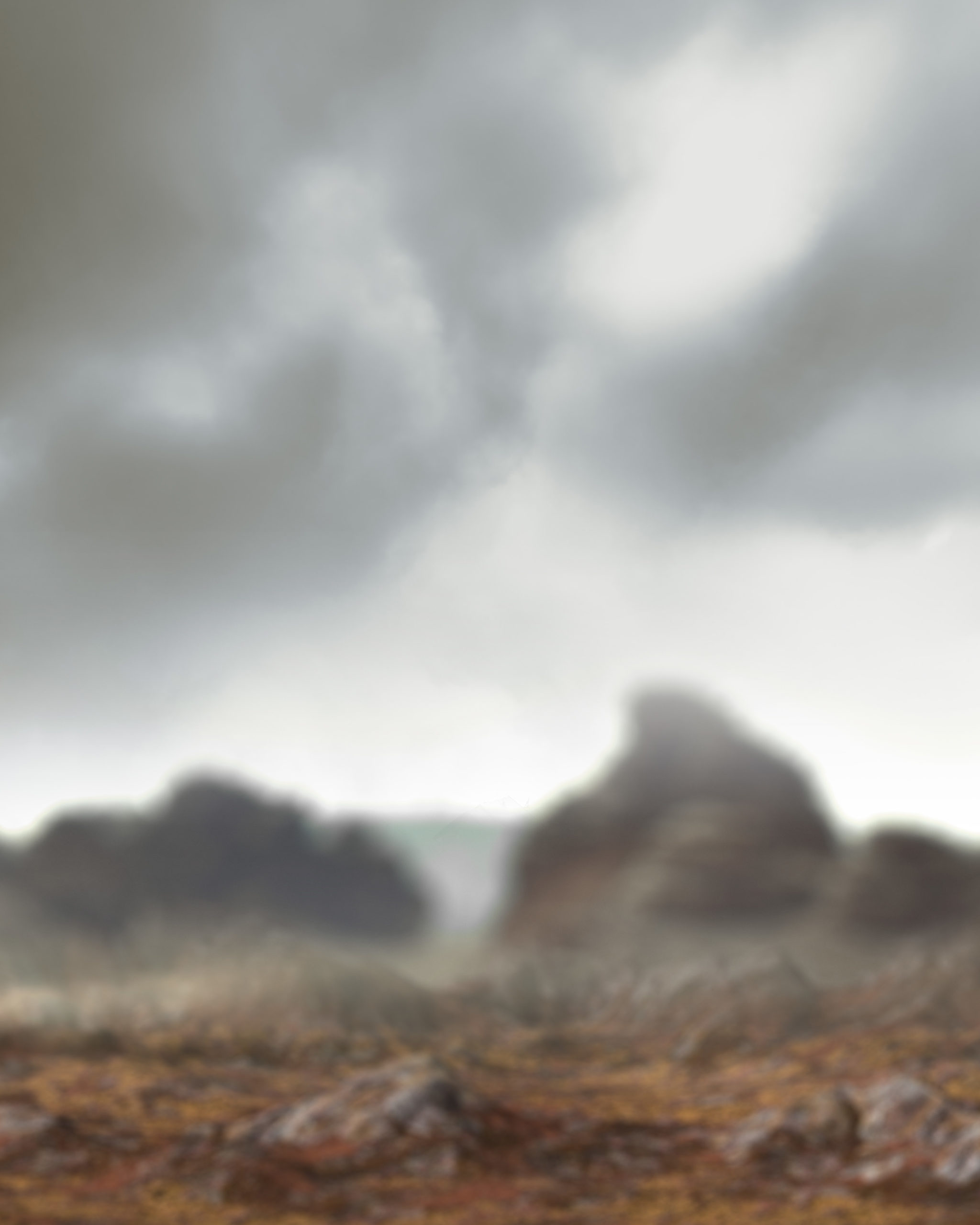 mountain fog background