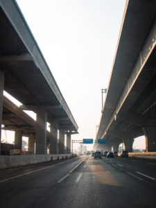Highway and Flyover Background