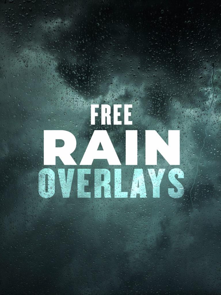 NSB Rain Overlay PNG
